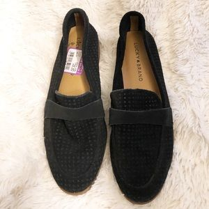 Lucky Brand Black Caviep Loafer 7.5